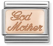 Nomination Rose Gold Godmother Charm