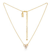 Kate Spade New York Gold Disco Pansy Necklace