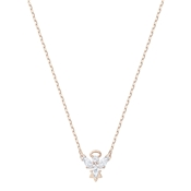 Swarovski Magic Rose Gold Angel Necklace