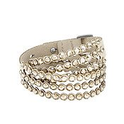 Power Slake Beige Bracelet by Swarovski