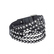 Swarovski Power Slake Dark Grey Bracelet