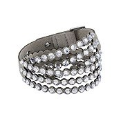 Swarovski Power Slake Grey Bracelet