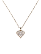 Ted Baker Gold Hidden Heart Necklace