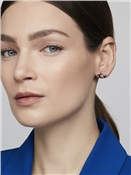 Ted Baker Rose Gold Solitaire Bow Earrings
