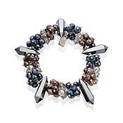 August Woods Midnight Power Beaded Bracelet