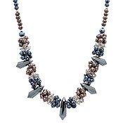 August Woods Midnight Power Beaded Necklace
