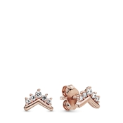 Pandora Rose Tiara Wishbone Earrings
