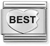 Nomination Silvershine Best Friends Trio Charm