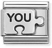 Nomination Silvershine You Puzzle Piece Charm