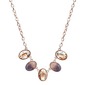 August Woods Rose Gold Divine Necklace