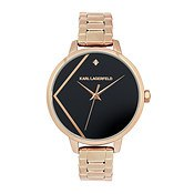 Karl Lagerfeld Klassic Karl Rose Gold Bracelet Watch