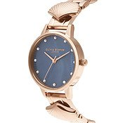 Olivia Burton Mermaid Rose gold & Navy Watch