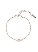 Ted Baker Rose Gold Tiny Heart Bracelet