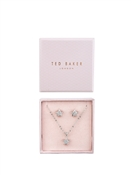 Ted Baker Silver Crystal Star Set