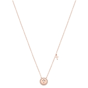 Argento Children's Rose Gold Cross Necklace
