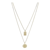Pilgrim Gold Valkyria Layered Necklace