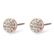 Pilgrim Classic Rose Gold Heather Earrings
