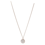 Pilgrim Classic Rose Gold Heather Necklace