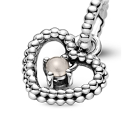 Pandora June Birthstone Heart Charm