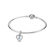Pandora March Birthstone Gift Set