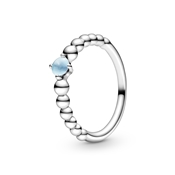 Pandora December Birthstone Beaded Ring