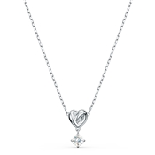 Swarovski Lifelong Heart Silver Necklace