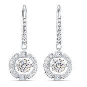 Swarovski Sparkling Dance Drop Earrings