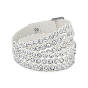 Swarovski Power Slake White Medium Bracelet