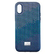 Swarovski Crystalgram iPhone Xs Max Blue Anniversary Case