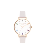 Olivia Burton Rainbow Blossom & Rose Gold Watch