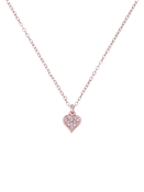 Ted Baker Rose Gold Hidden Heart Necklace