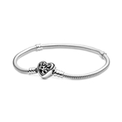 Pandora Moments Family Tree Heart Bracelet