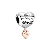 Pandora Love You Mum Heart Charm