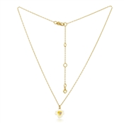 Kate Spade New York Gold Pansy Necklace