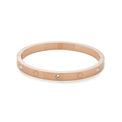 Kate Spade New York Rose Gold Infinite Spade Bangle