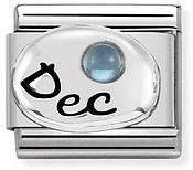 Nomination December Light Topaz Birthstone Charm