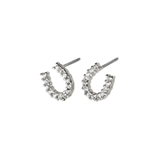 Pilgrim Silver Leanna Horseshoe Earrings