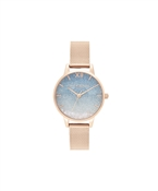 Rose Gold Wishing Wave Watch  by Olivia Burton
