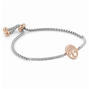 Nomination Silver + Rose Gold Milleluci Tree Of Life Bracelet