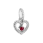 Pandora January Heart Birthstone Gift Set