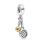 Pandora Tennis Racket & Ball Charm