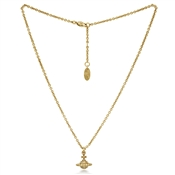 Vivienne Westwood Gold Mayfair Small Orb Necklace