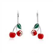 Vivienne Westwood Misty Cherry Drop Earring