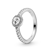 Classic Sparkle Halo Ring by Pandora