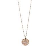 Pilgrim Rose Gold Joy Coin Necklace