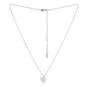 Kate Spade New York Silver Mini Heart Necklace