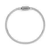 Pandora Silver Magnetic Clasp Snake Chain Bracelet