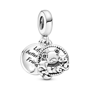 Pandora Bear, Fox & Squirrel Drop Charm