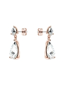 Ted Baker Rose Gold Crystal Candy Earrings