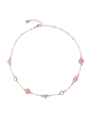 Ted Baker Rose Gold & Pink Dolly Mix Choker Necklace